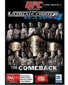 UFC SEASON 4 - THE COMEBACK - 5 DISC BOXSET