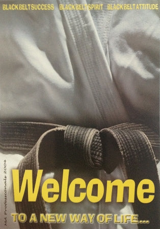 WELCOME TO A NEW LIFE POSTCARDS