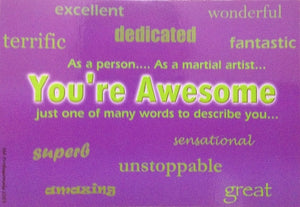 YOU'RE AWESOME POSTCARDS