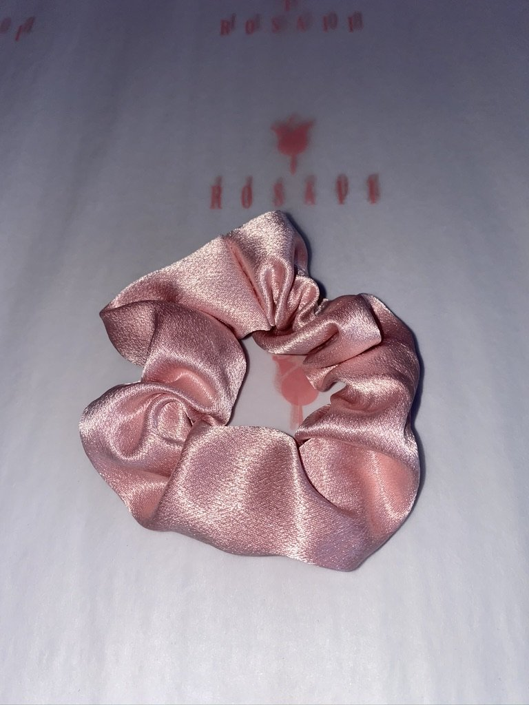 Feisty Satin Scrunchies - 5 pcs - ROSAII