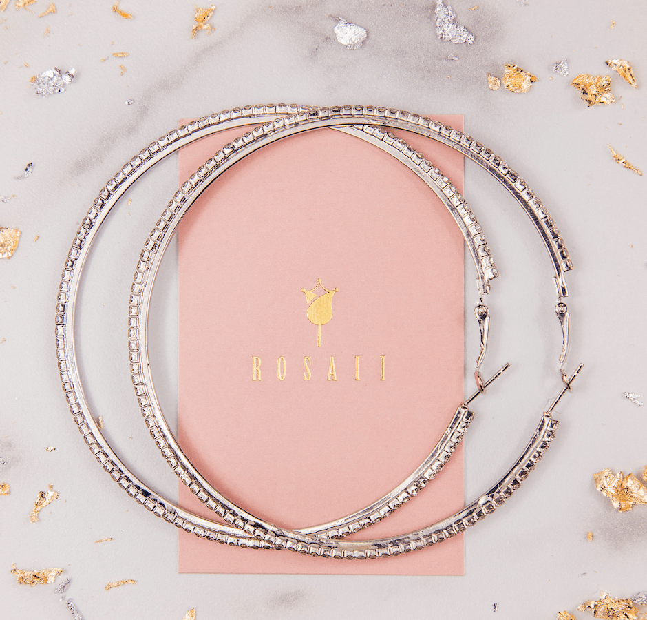 Crystal Hoops - ROSAII