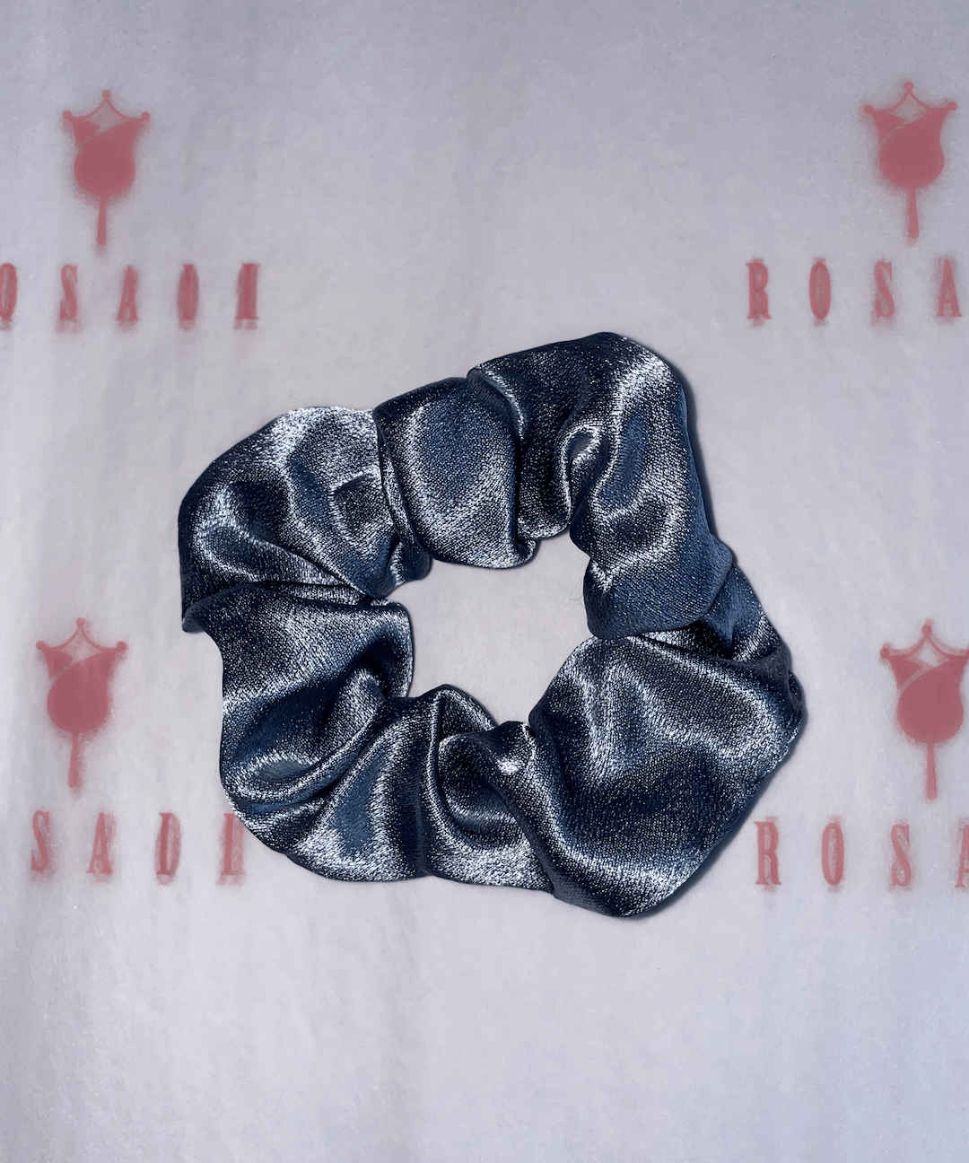 Blue Scrunchies - 2 pcs - ROSAII