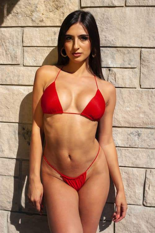 Red Bikini Rosaii Summer Sale