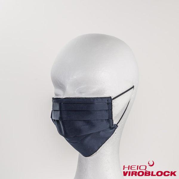 131/ Maske midnight mit HeiQ Viroblock Technology