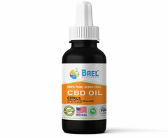 Bael Wellness CBD Oil (Tincture) Citrus - 500 mg, 30 ml