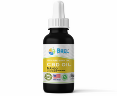 Bael Wellness CBD Oil (Tincture) Mango - 500 mg, 30 ml