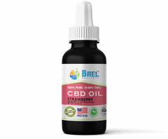 Bael Wellness CBD Oil (Tincture) Strawberry - 500 mg, 30 ml