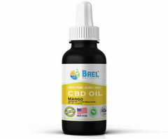 Bael Wellness CBD Oil (Tincture) Mango - 1000 mg, 30 ml