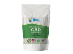 Bael Wellness CBD Gummies Mint - 5 Pack, 25 mg Each