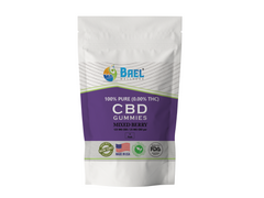 Bael Wellness CBD Gummies Mix Berry - 5 Pack, 25 mg Each