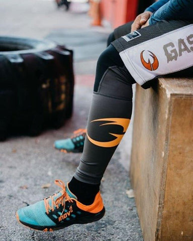 GASP's first ever pair of compression leggings were designed specifically with the bodybuilder in mind. A bold and masculine design compared with traditional base layers