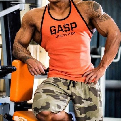 GASP Thermal Shorts in Green Camo