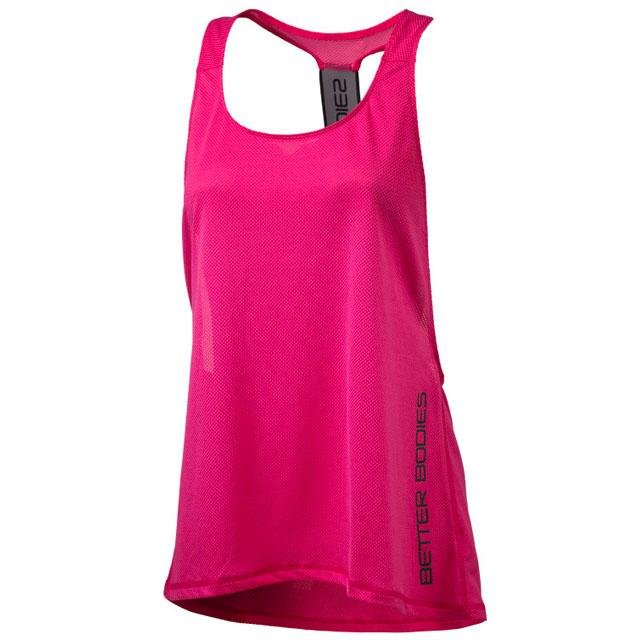 Better Bodies Athlete Mesh Tank - Hot Pink