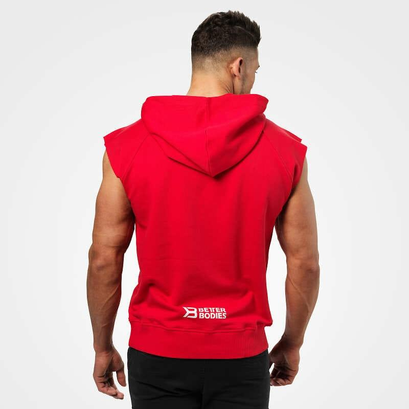 Better Bodies B1 Hudson S-L Sweater - Bright Red - Urban Gym Wear