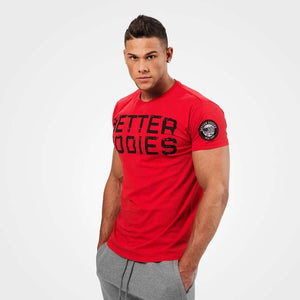 You added <b><u>Better Bodies Basic Logo Tee - Bright Red</u></b> to your cart.