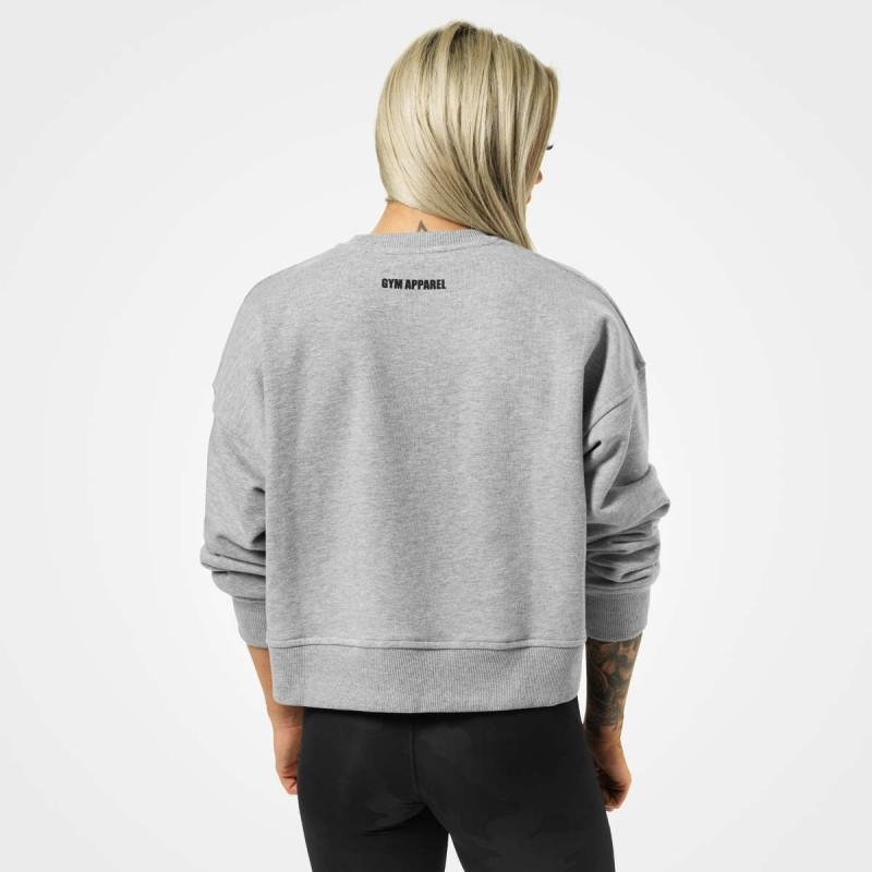 Better Bodies Chelsea Sweater - Greymelange - Urban Gym Wear