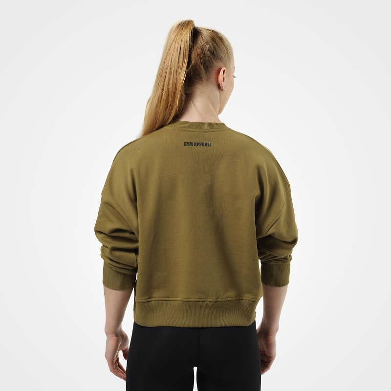 Better Bodies Chelsea Sweater - Military Green - Urban Gym Wear