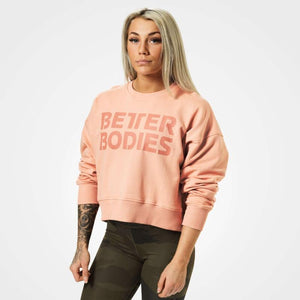 You added <b><u>Better Bodies Chelsea Sweater - Peach</u></b> to your cart.