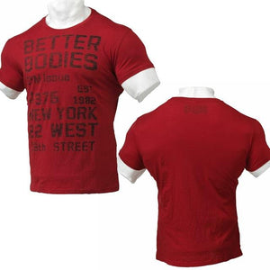 You added <b><u>Better Bodies Cotton Slub Tee - Jester Red</u></b> to your cart.