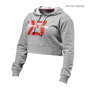 You added <b><u>Better Bodies Cropped Hoodie - Greymelange</u></b> to your cart.