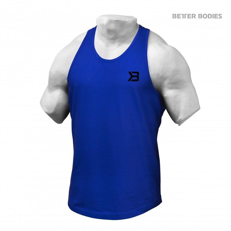 Better Bodies Essential T-Back - Strong Blue - Urban Gym Wear