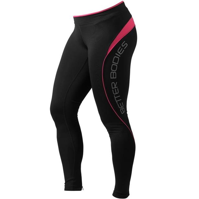 Better Bodies Fitness Long Tights - Hot Pink - Urban Gym Wear