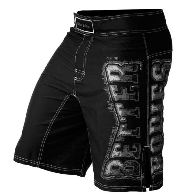 Better Bodies Flex Board Shorts - Black - Urban Gym Wear