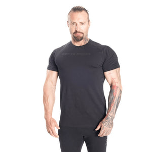 You added <b><u>Better Bodies Gym Tapered Tee - Black/Black</u></b> to your cart.