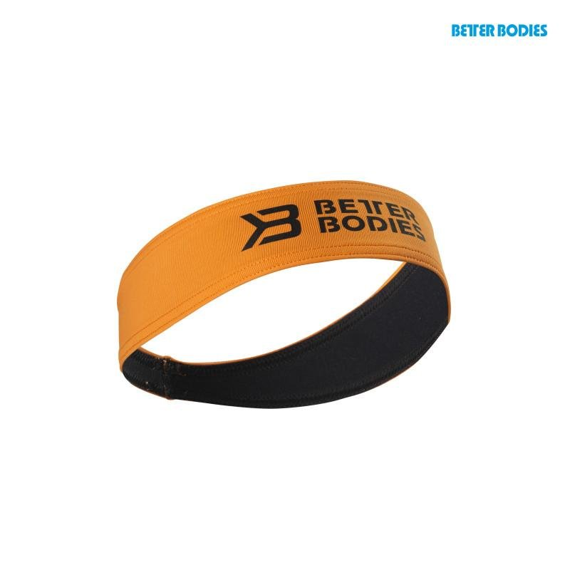 Better Bodies Hair Sweatband - Bright Orange - Urban Gym Wear
