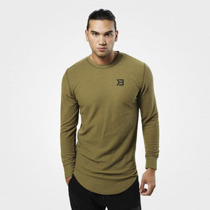You added <b><u>Better Bodies Harlem Thermal L-S - Military Green</u></b> to your cart.