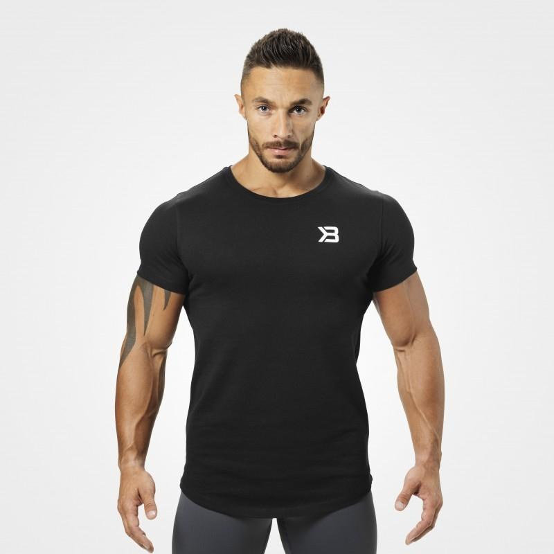 Better Bodies Hudson Tee - Black - Urban Gym Wear