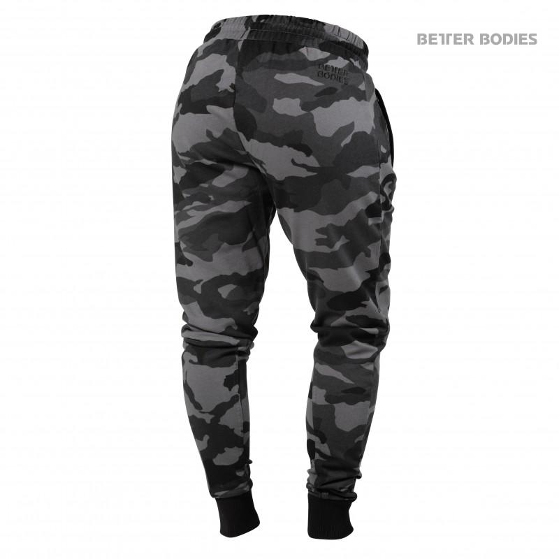 Better Bodies Jogger Sweatpants - Dark Camo - Urban Gym Wear
