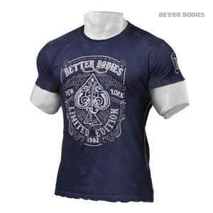 You added <b><u>Better Bodies Limited Edition Tee - Washed Navy</u></b> to your cart.