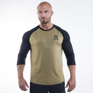 You added <b><u>Better Bodies Mens Baseball Tee - Military Green</u></b> to your cart.