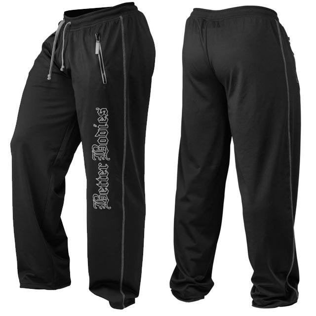 Better Bodies Men's Team Pant - Black - Urban Gym Wear