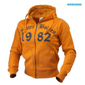 You added <b><u>Better Bodies N.Y Hoodie - Bright Orange</u></b> to your cart.
