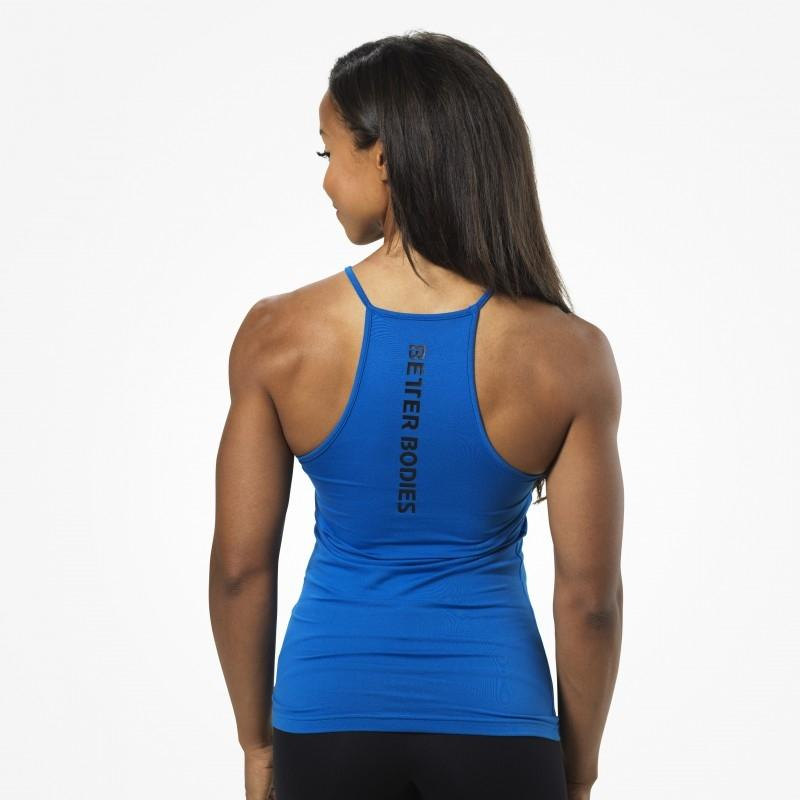 Better Bodies Performance Halter - Strong Blue - Urban Gym Wear