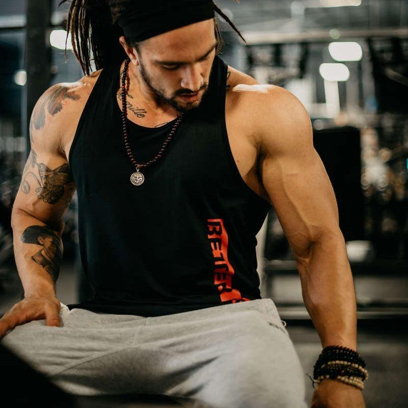 Better Bodies Performance T-Back - Black - Urban Gym Wear