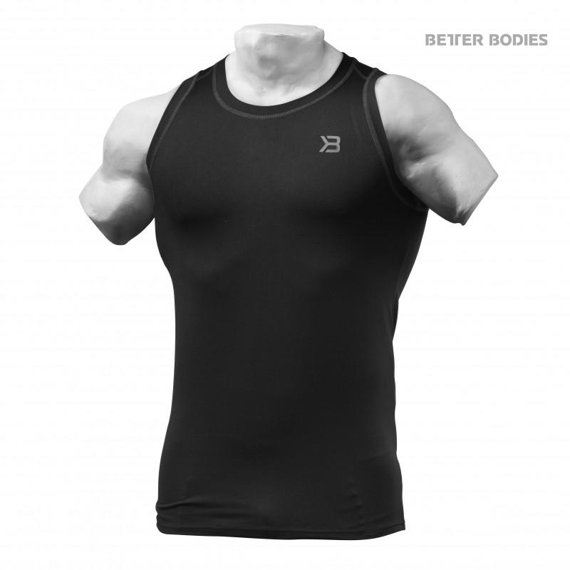 Better Bodies Performance Tank - Black - Urban Gym Wear