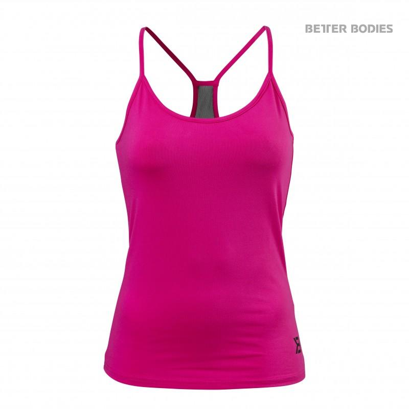 Better Bodies Performance Top - Hot Pink - Urban Gym Wear