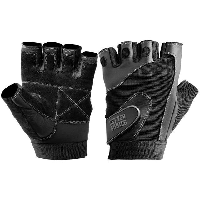 Better Bodies Pro Lifting Gloves - Black - Urban Gym Wear