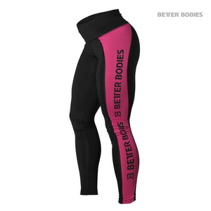 You added <b><u>Better Bodies Side Panel Tights - Black-Pink</u></b> to your cart.