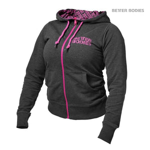 You added <b><u>Better Bodies Soft Logo Hoodie - Antracite Melange-Pink</u></b> to your cart.