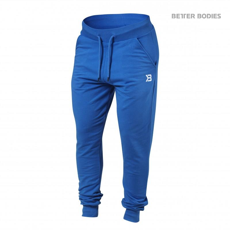 Better Bodies Soft Tapered Pants - Bright Blue - Urban Gym Wear
