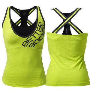 You added <b><u>Better Bodies Support 2-Layer Top - Lime</u></b> to your cart.