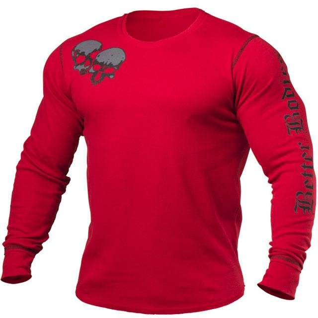 Better Bodies Thermal Flex L-S - Jester Red - Urban Gym Wear
