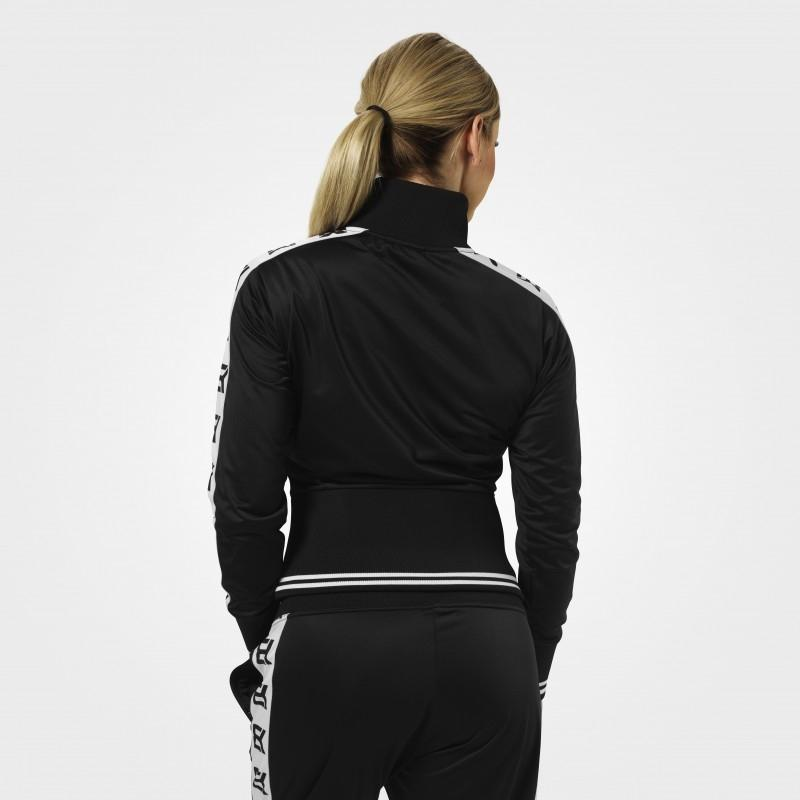 Better Bodies Trinity Track Jacket - Black - Urban Gym Wear