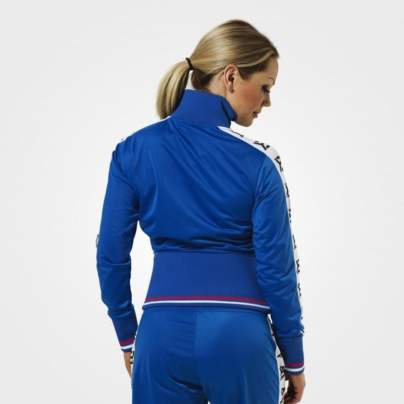 Better Bodies Trinity Track Jacket - Strong Blue - Urban Gym Wear
