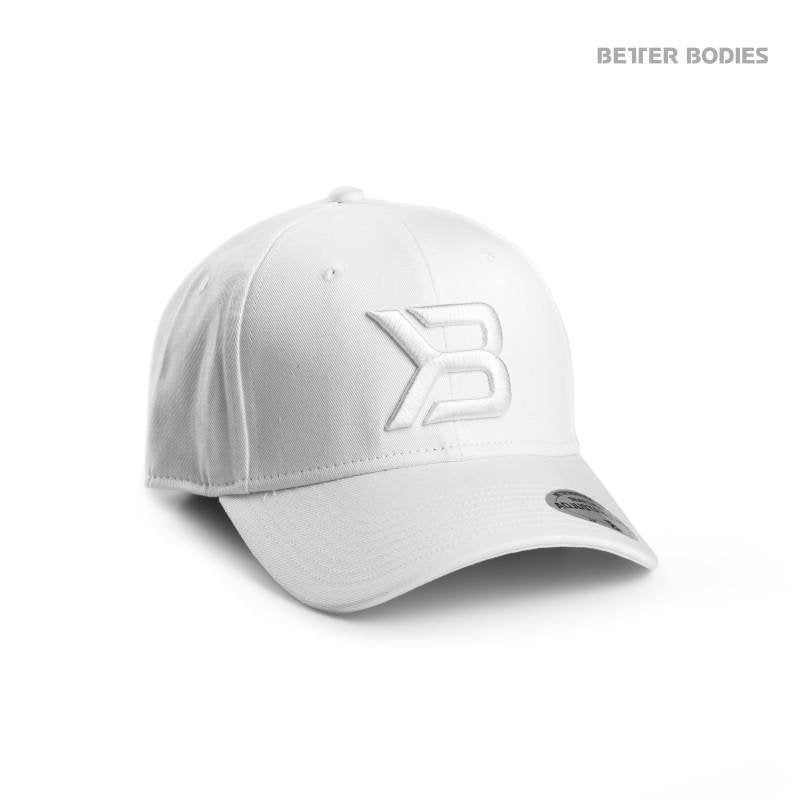 Better Bodies Womens Baseball Cap - White - Urban Gym Wear