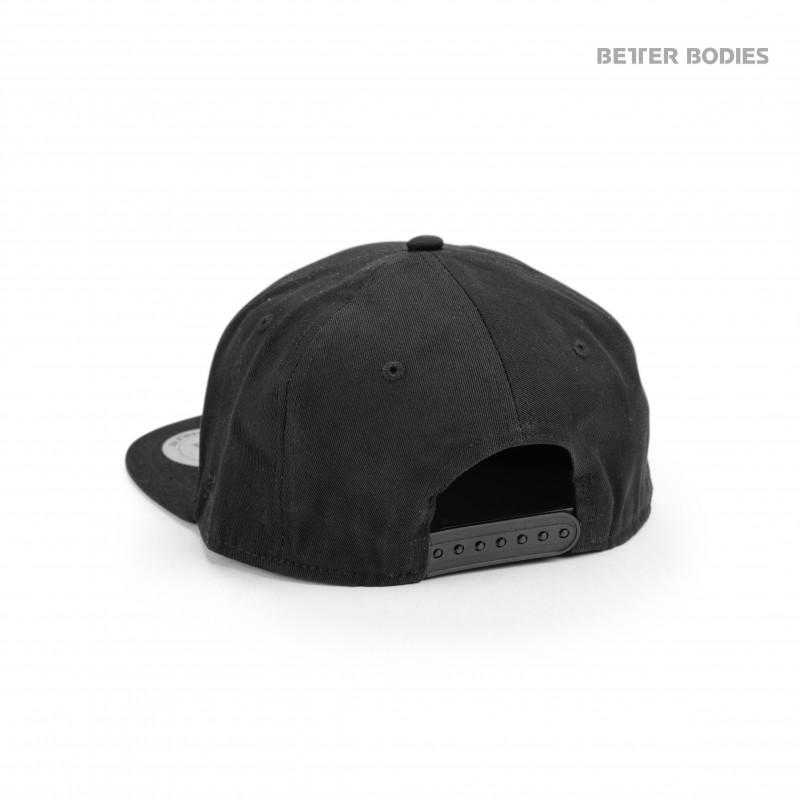 Better Bodies Womens Flat Bill Cap - Black - Urban Gym Wear